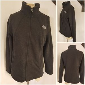 The North Face Fleece Lined Full Zip Sweater M